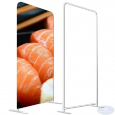 ONLY Hardware 4x8 Tension Fabric EZ Tube Straight Frame Booth Exhibit Show Display Backdrop Stand